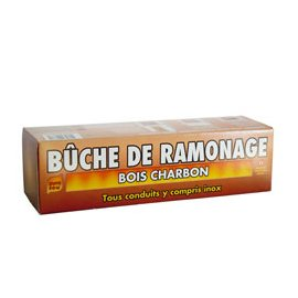 Bûche de ramonage
