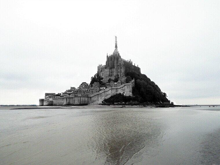 À l'assaut du Mont Saint-Michel